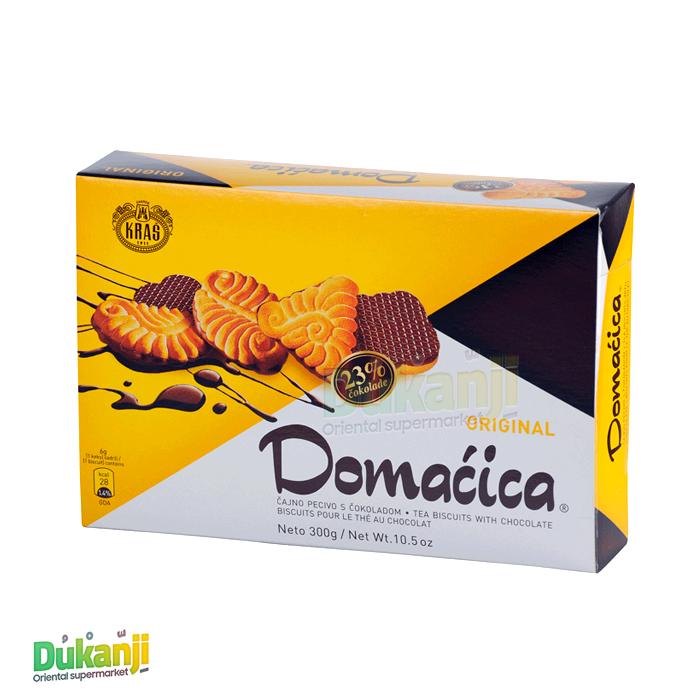 DOMACICA Tea Biscuit with chocolate Original 300 gram