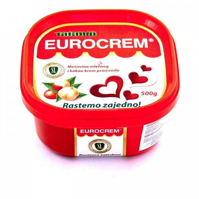 Eurocrem Chocolate/Hazelnut 500 gr