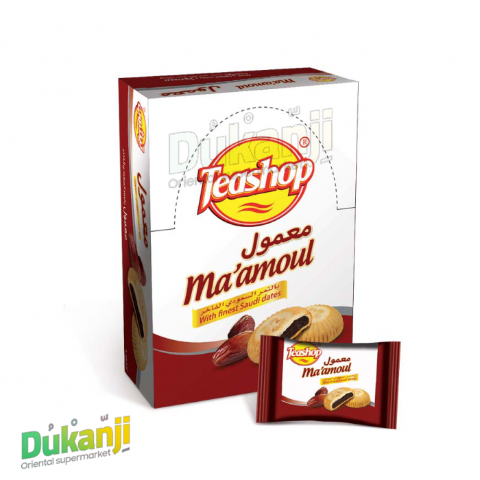 Teashop maamoul with dates 12 pieces