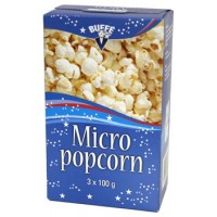BUFFE MICROPOPCORN 3-PACK