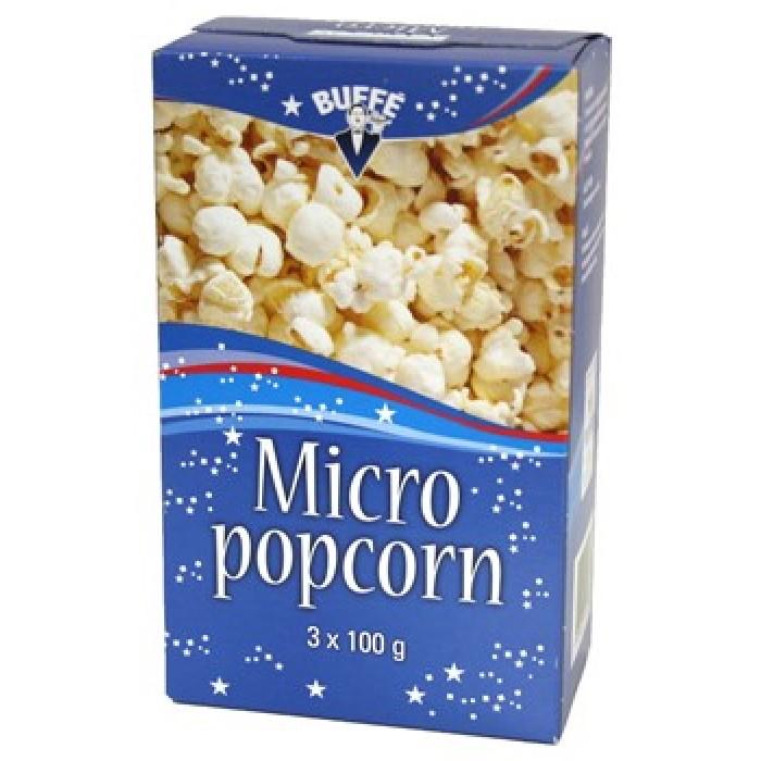 BUFFE MICROPOPCORN 3-PACK