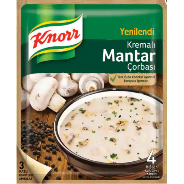 KNORR Mushroom Cream Soup 63G