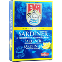 Eva Sardines in Vegetable Oil with Lemon 115 g