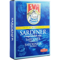 Eva Sardiner in Vegetable Oil 115 g