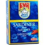 EVA SARDINES SPICY 115G