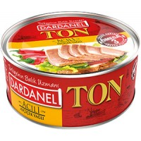 DARDANEL Tuna in sunflower oil spicy 160g