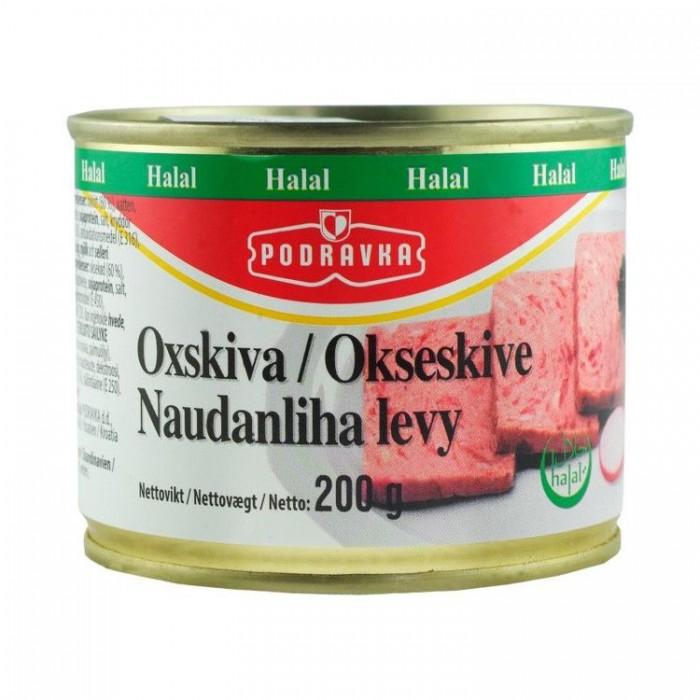 Podravka Ox Slices Halal 200 g
